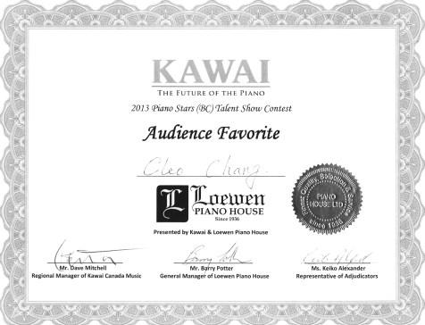 festival certificate 2